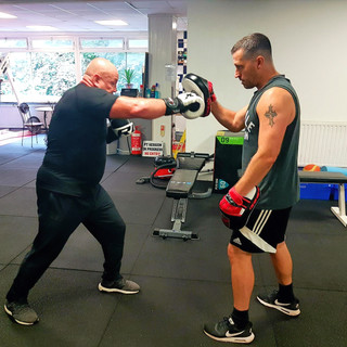 Park View Fitness Boxing Pad Workouts