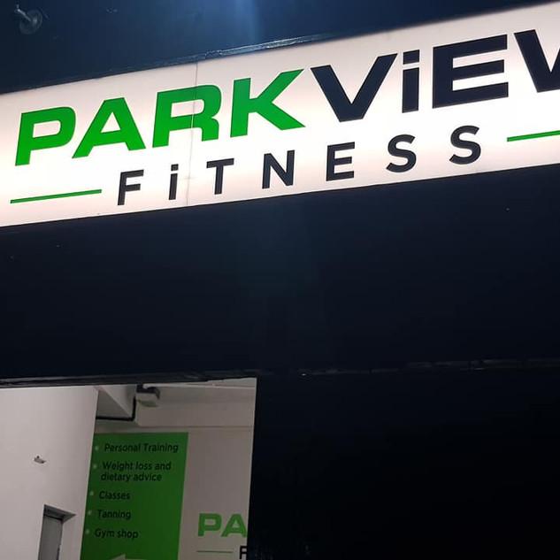 Park View Fitness Entrance
