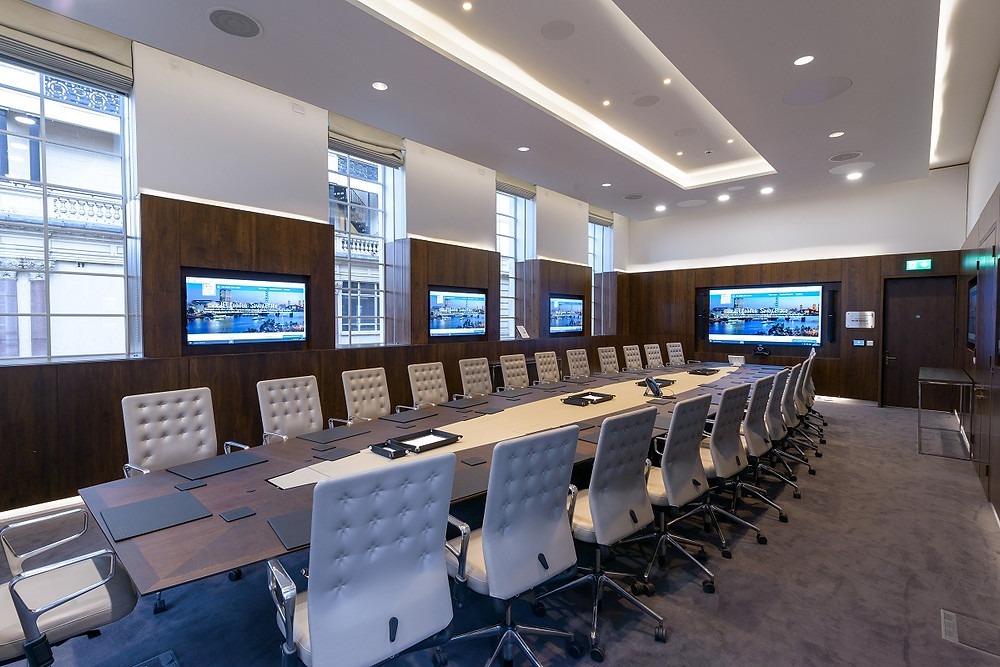 Corporate Office Audio-Visual-over-IP (AVoIP) installation trend