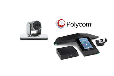 Polycom Realpresence conferencing equipment