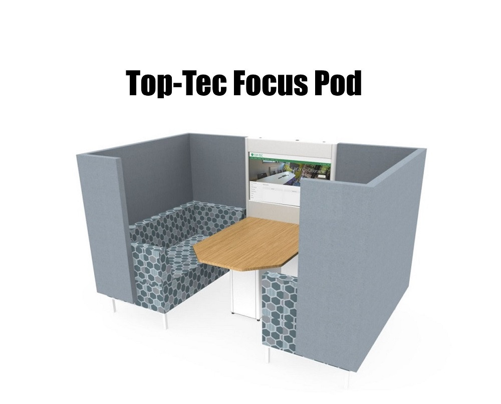 Top-Tec Focus Pod for Huddle Room