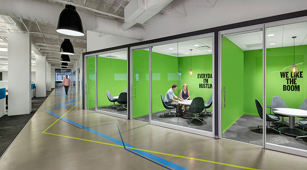 Huddle Rooms for Content-sharing and cloud collaboration