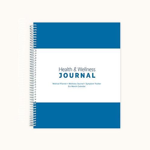 Health & Wellness Journal -  Adult Version