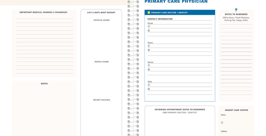 Primary Care Doctor Information
