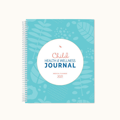 Child Health and Wellness Journal 2021 weekly planner)
