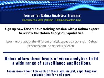 Dahua Analytics Training