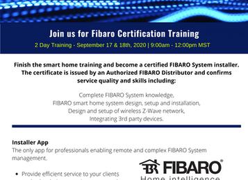 Fibaro Certification Training