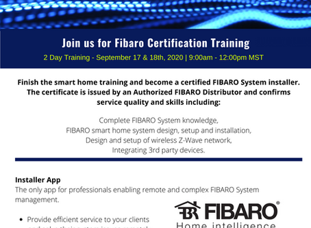 Fibaro Certification Training