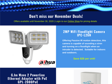 November Deals are here!