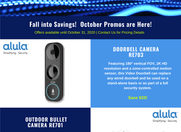 Fall into savings and don't miss our October promotions!