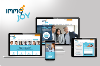 Un site flambant neuf pour Immojoy