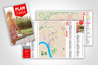 Un plan de ville mis à jour…