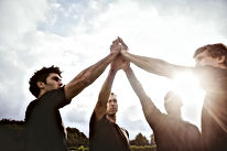 Spelers van het rugby