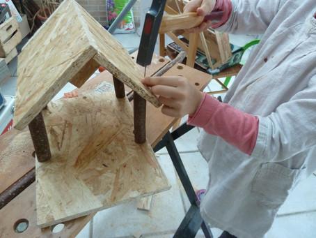 Atelier de fabrication : mangeoire à oiseaux