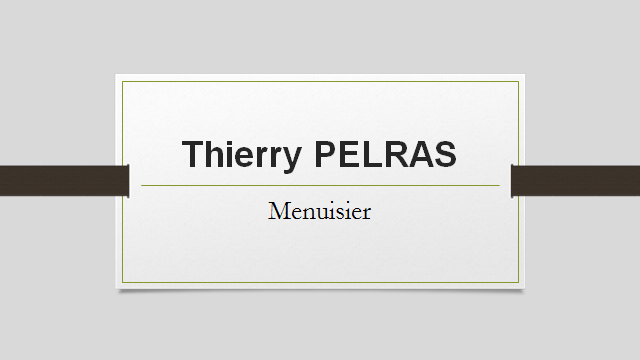Thierry PELRAS