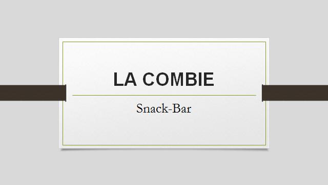 Bar La Combie