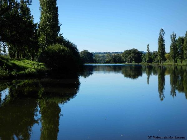 détente au lac de Privezac