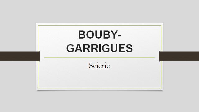 BOUBY GARRIGUES