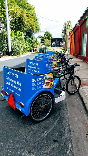 Metrocycle Pedicabs, Austin Texas