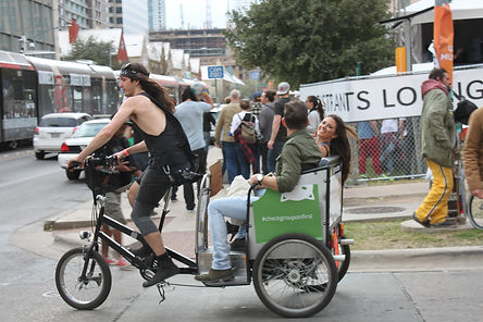 Metrocycle Pedicabs, Austin Texas