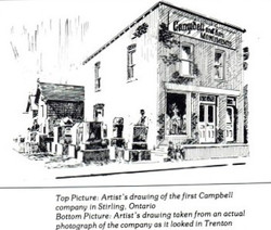 1909 - 1930: Campbell and Sons Monuments