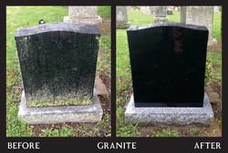 Power Washing - Black Granite