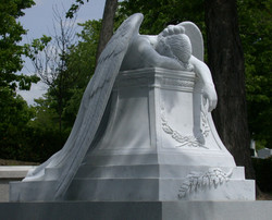 Angel of Grief at Mount Royal Montreal