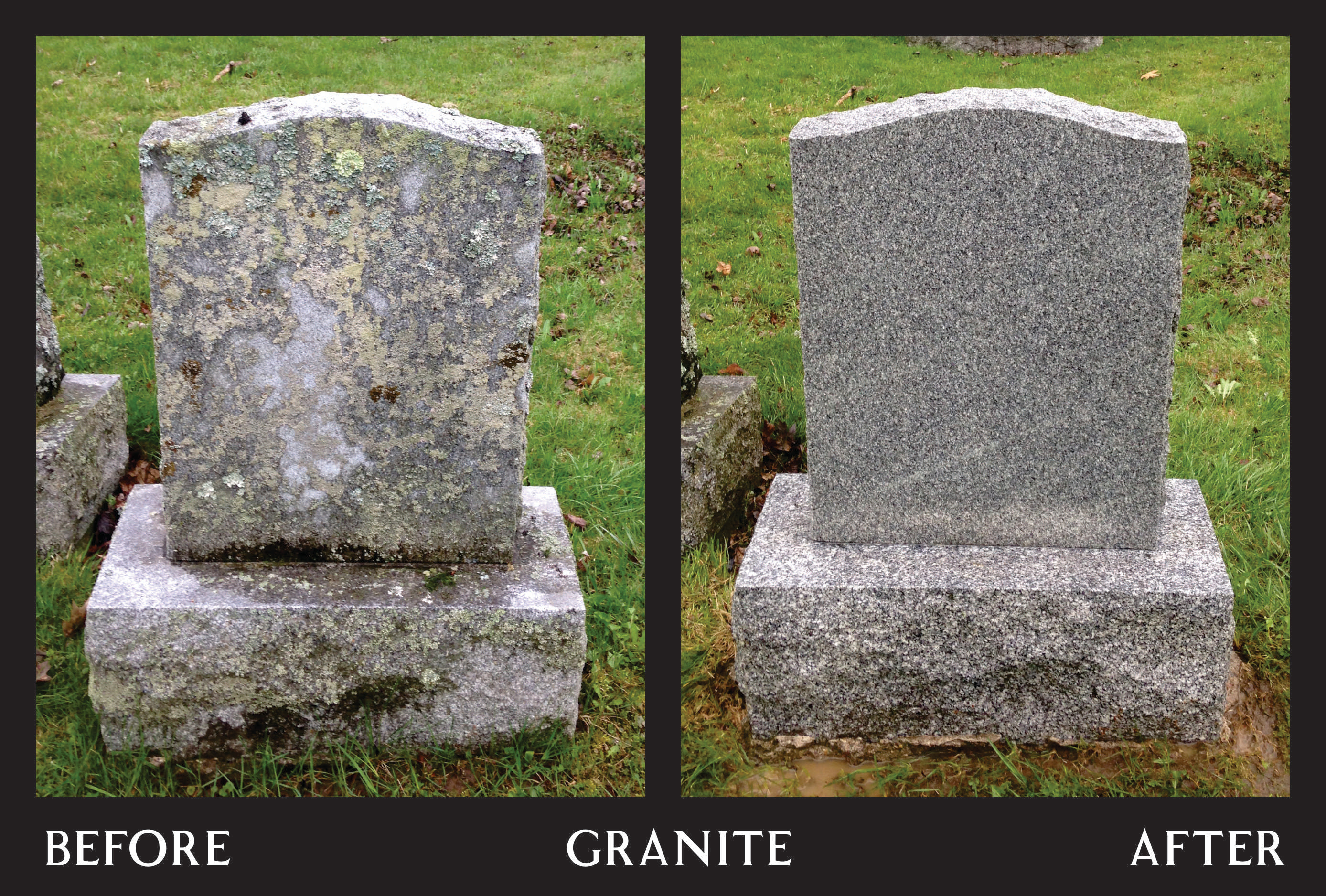 Power Washing - Grey Granite