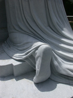 Angel of Grief Montreal, detail