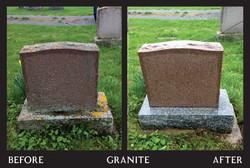 Power Washing - Red Granite