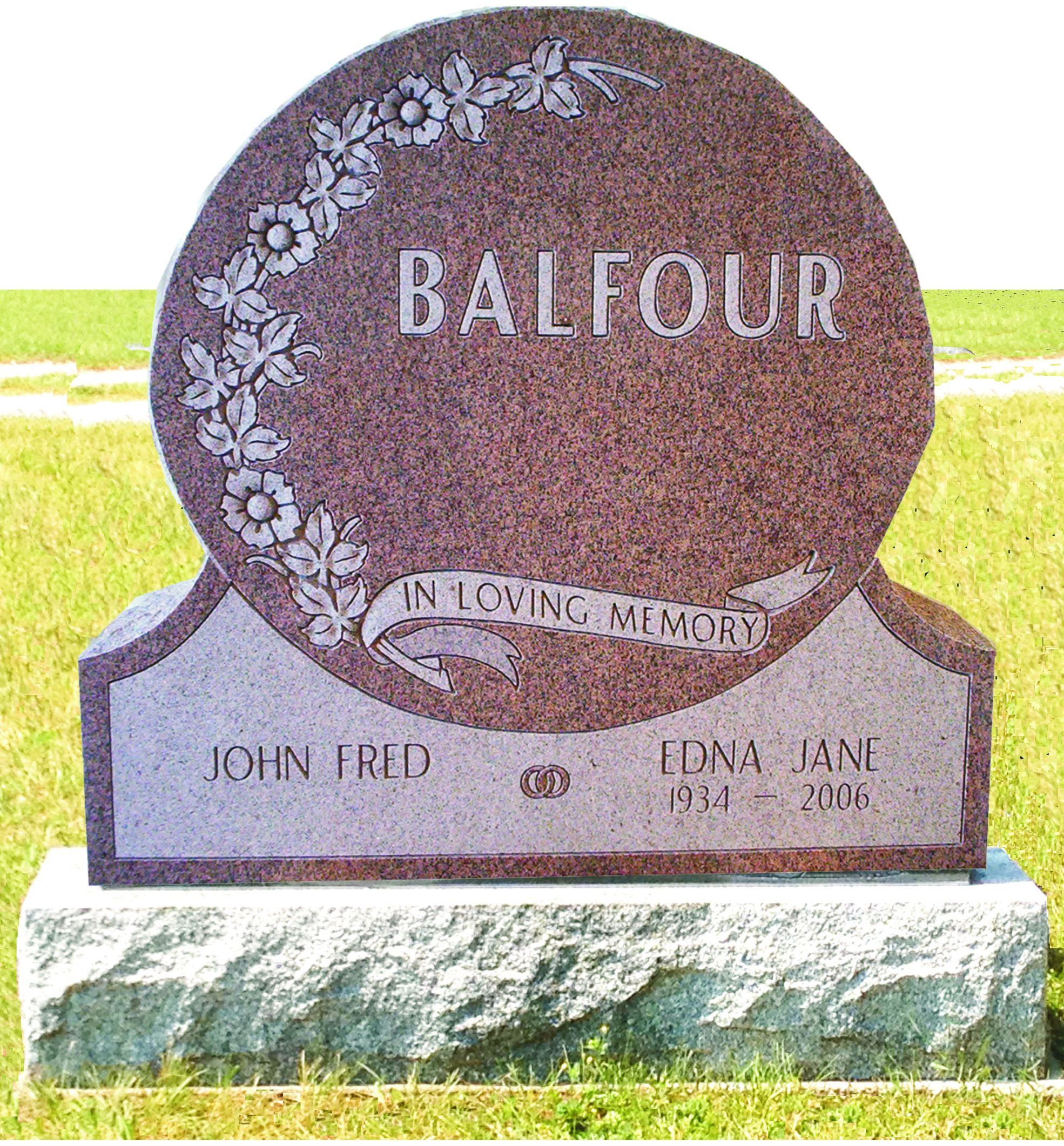 Balfour - Circle (With Foot)