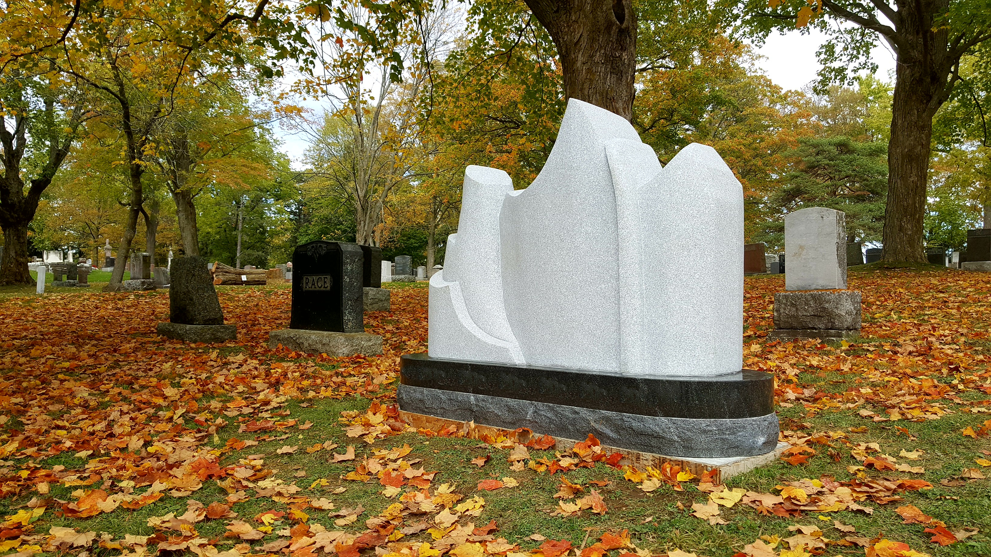 Group of Seven inspired Ice Berg Monument