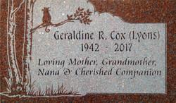 Oriental Red - Cox Geraldine 17-0995 - 2