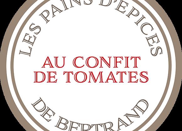 Pain d'épices au confit de tomates