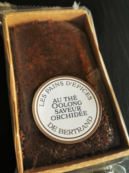 Pain d'épices au thé Oolong et saveur d'orchidée