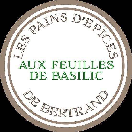 Pain d'épices au feuilles de basilic