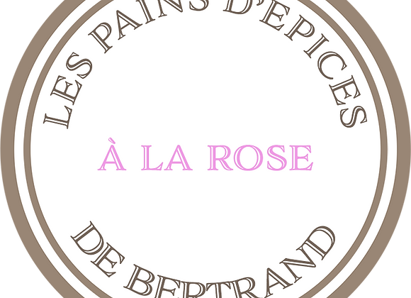 Pain d'épices à la rose