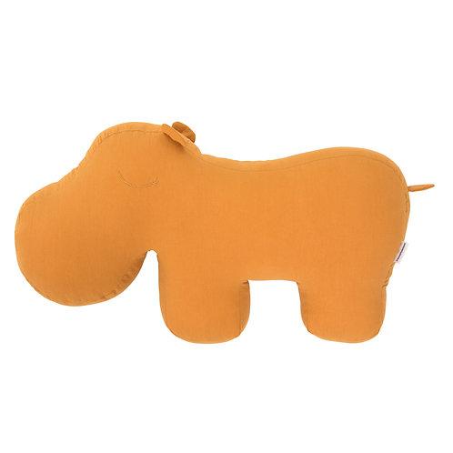 Cuscino HIPPO in Cotone Giallo