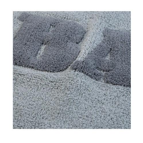 Tappeto BATH 50x80cm perla/grigio