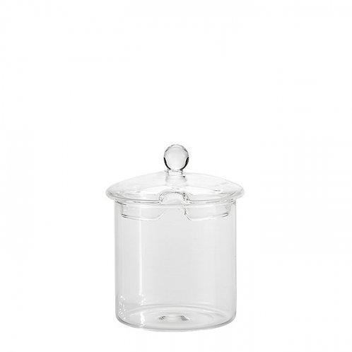 Zuccheriera in vetro borosilicato
