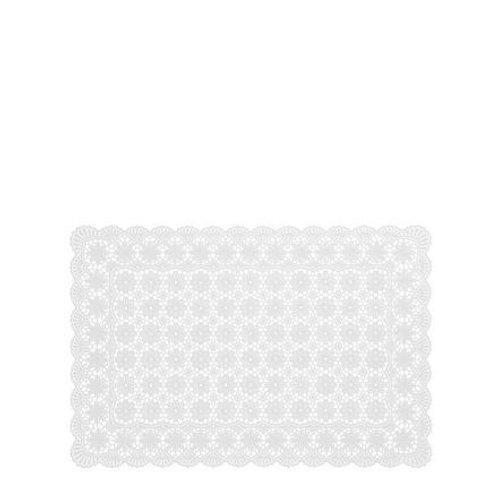 Tovaglietta Fiori Impermeabile White