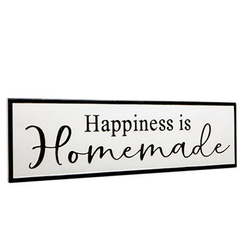 "Targa ""HAPPINESS IS HOMEMADE"""