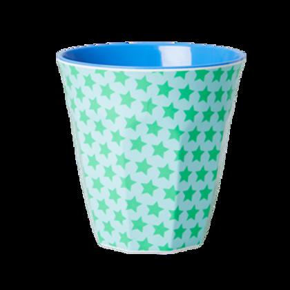 Bicchiere melamina GREEN STARS