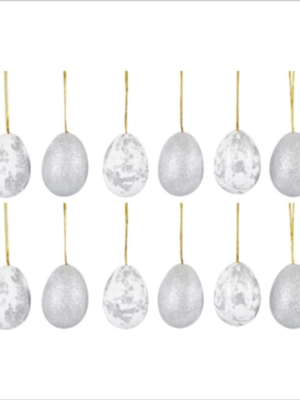 Sacchetto 12 uova marmorizzate grandi