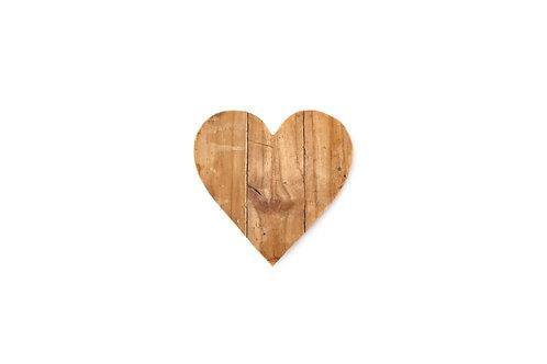 Cuore legno piccolo