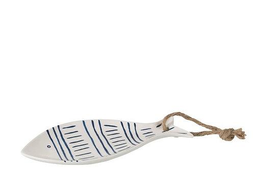 Piatto Pesce Righe con corda