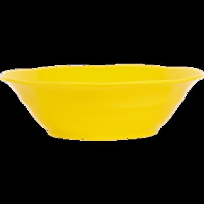 Piatto fondo giallo