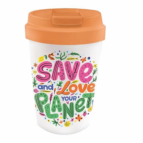 Travel Mug SAVE PLANET