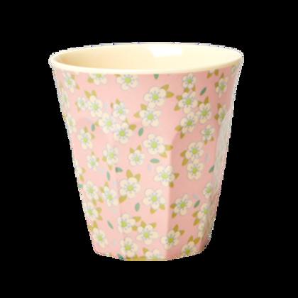 Bicchiere melamina Small Flower rosa