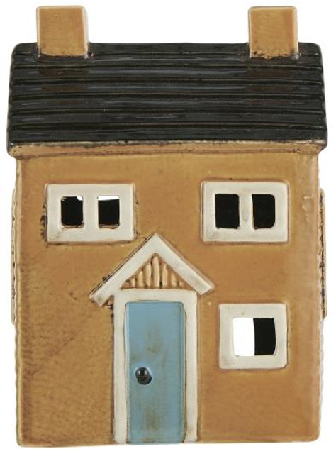 Casa porta candele Nyhavn tetto nero